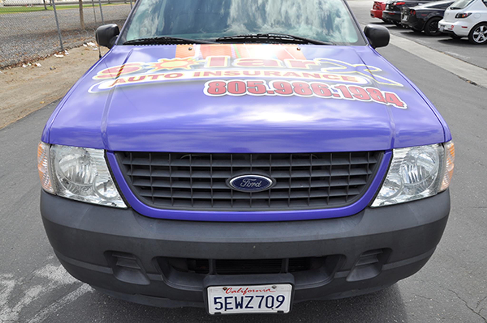 Custom Ford Explorer >> Ford Explorer Sport Gloss Vehicle Wraps With Custom Design