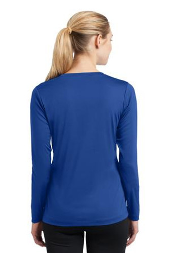 NEW Sport-Tek® Ladies Long Sleeve V-Neck Competitor™ Tee.