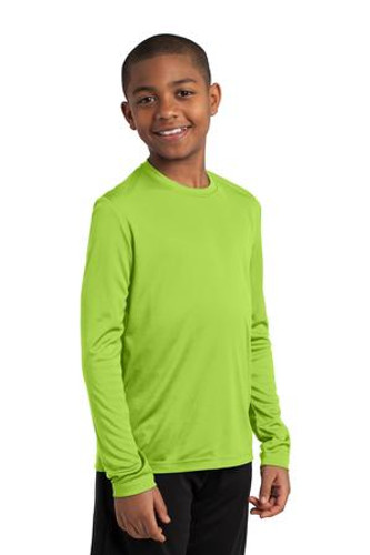 NEW Sport-Tek® Youth Long Sleeve Competitor™ Tee.