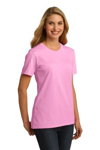 Port & Company® Ladies Essential 100% Organic Ring Spun Cotton T-Shirt.