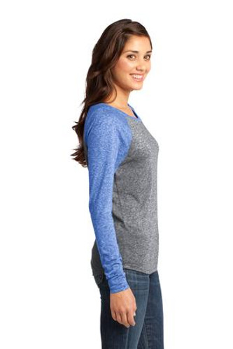 District® - Juniors Microburn™ Long Sleeve Raglan Tee.