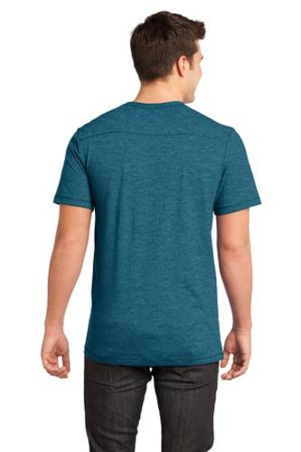 District® - Young Mens Gravel 50/50 Notch Crew Tee.
