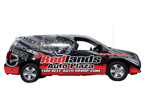 2014 Dodge Caravan 3M gloss wrap for Redland Auto Center