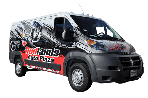 2014 Ram Pro Master Van 3M gloss wrap for Redlands Auto Center