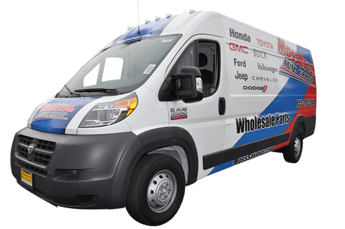 Ram Promaster Van Vehicle Wrap using GF For Moss Brothers Dealerships