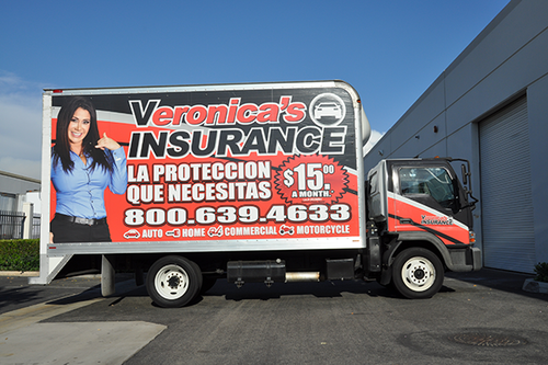 FORD LCF BOX TRUCK 20' GLOSS VEHICLE WRAPS WITH CUSTOM DESIGN