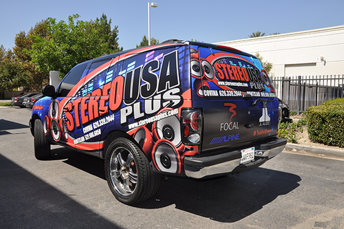 FORD EXPEDITION SPORT GLOSS VEHICLE WRAPS WITH CUSTOM DESIGN