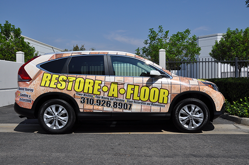 HONDA CR-V GLOSS VEHICLE WRAPS WITH CUSTOM DESIGN