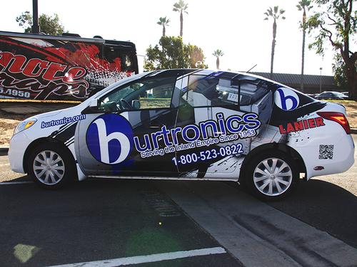 2013 Nissan Versa 3M Wrap