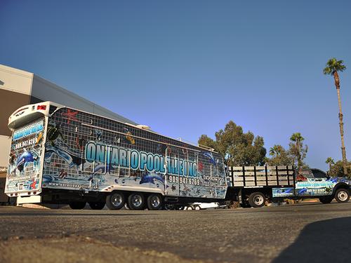 Weekend Warrior Travel Trailer 3M wrap