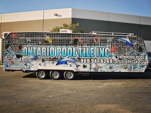 Weekend Warrior Travel Trailer 3M wrap