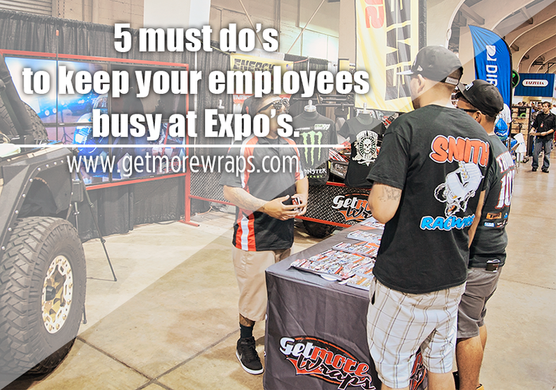 5 must do's to keep employees active at Expos