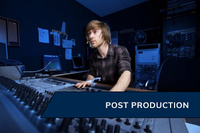 Production Services - Post Production