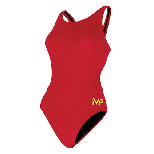 WOMENS COMP BACK SOLID RED