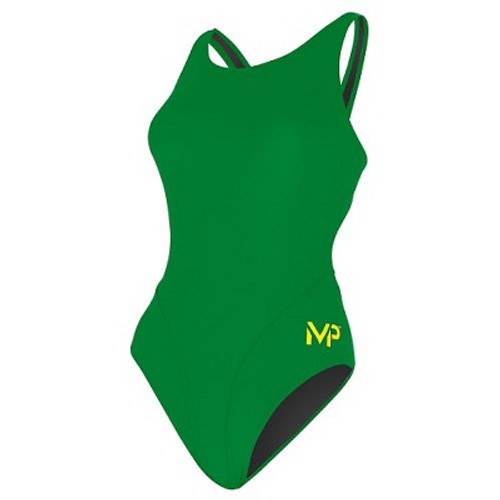 WOMENS COMP BACK SOLID GREEN