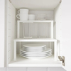 IKEA VARIERA Shelf insert, white, 32x13x16 cm
