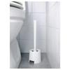 IKEA BOLMEN Toilet brush/holder, white