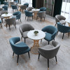 4 Seater Nordic Iron Round Table & Chairs Set