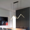 Arrow pendant light 90cm black