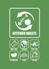 Penguin Hygienic Recycle Bin 240L (Green) - Kitchen waste