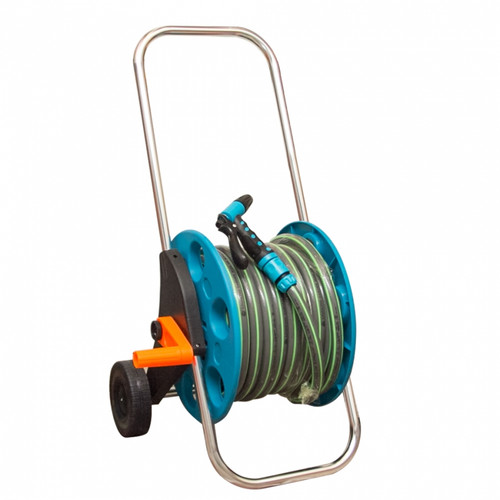 Prosper Garden Hose Reel Cart c/w accessories PR3015A (GT004)