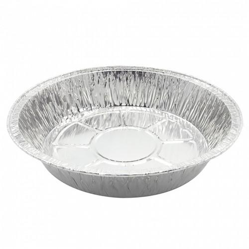 Round Aluminium Foil BBqTray 4pcs/pack BB130 (HH03-16)