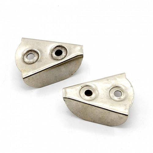 Figo 'V' Chrome Pipe Bracket (BRA08)
