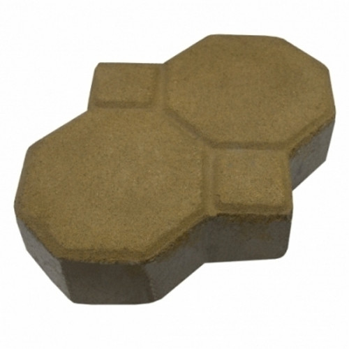"MGM 2 Layers ""Penguin"" Type Interlocking Paver Block P2Y - Yellow (PV00010-00007)"