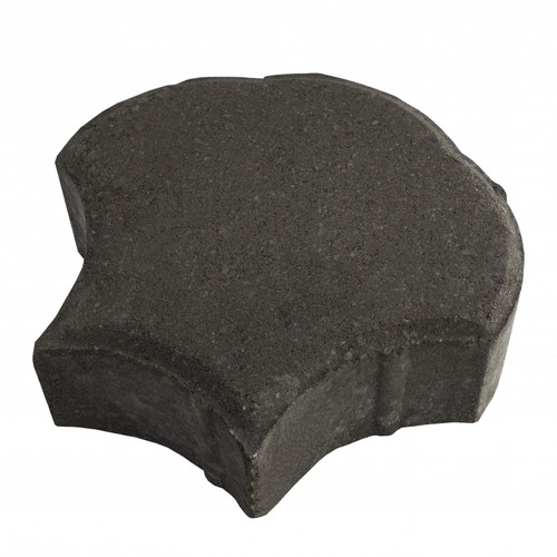 "MGM 2 Layers ""Shell"" Type Interlocking Paver Block S2BK - Black (PV00012-00001)"