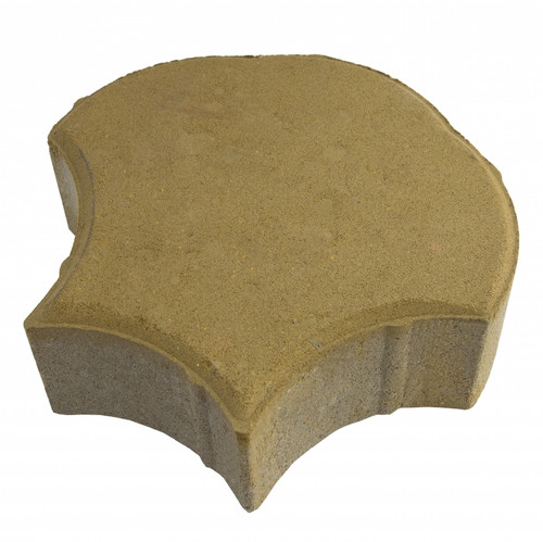 "MGM 2 Layers ""Shell"" Type Interlocking Paver Block S2Y 0 - Yellow (PV00012-00007)"