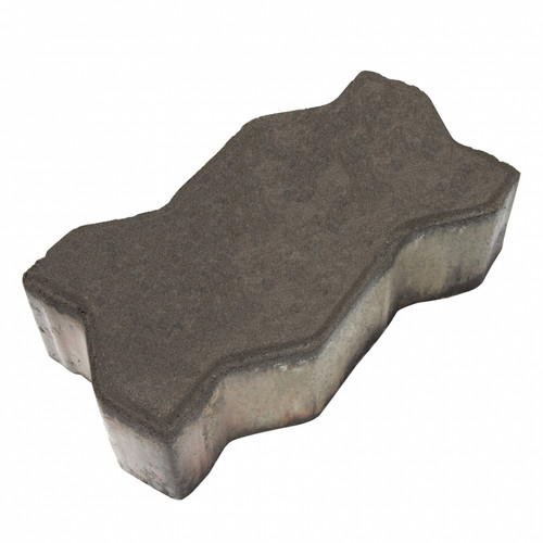 "MGM 2 Layers ""U"" Type Interlocking Paver Block U2BK - Black (PV00002-00001)"