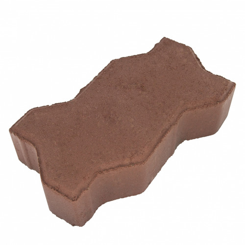 "MGM 2 Layers ""U"" Type Interlocking Paver Block U2R - Dark Red (PV00002-00007)"