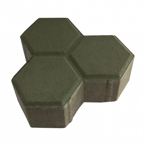 "MGM 2 Layers ""Y"" Type Interlocking Paver Block Y2G - Green (PV00004-00003)"