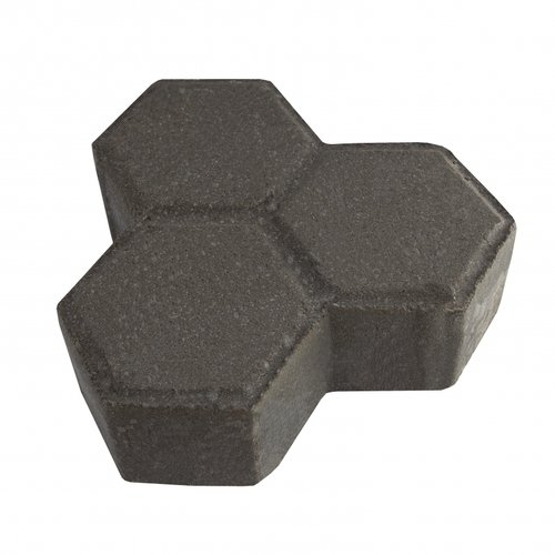 "MGM 2 Layers ""Y"" Type Interlocking Paver Block Y2BK - Black (PV00004-00001)"