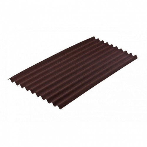 Onduline Bituminous Corrugated Colour Roofing Sheets - Brown (R00053-00001)
