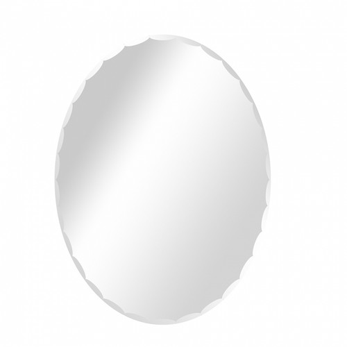 Figo Glass Mirror Beveled Edge Oval (MR05)