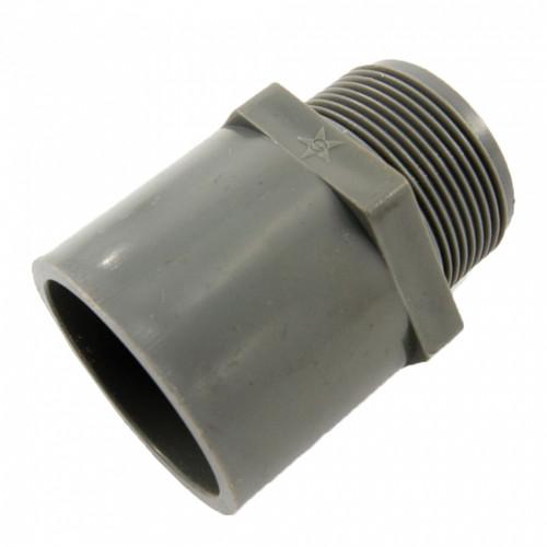 "PVC Fittings Valve Socket 1-1/2"" BS4346 (P00016-00317)"