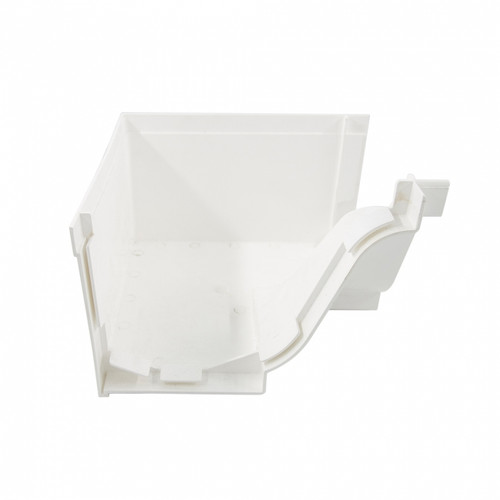 Paling PVC Gutter Angle-In (M/White)
