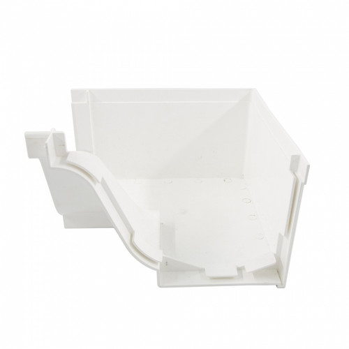 Paling PVC Gutter Internal Corner (R-00045-00014)