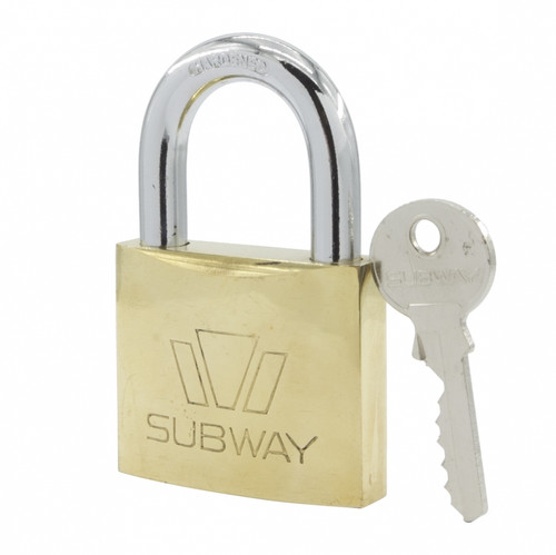 Subway Brass Padlock #265 (PL21)