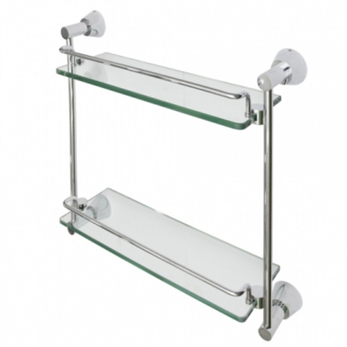 Figo Double Glass Shelf SS 9622 (GH37D)