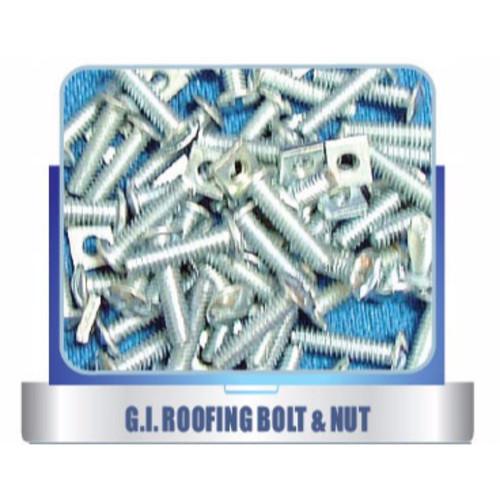 G.I Roofing Bolt & Nut
