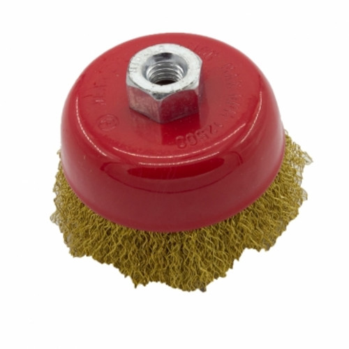 """Prowess wire cup brush 3"""" x m10"""