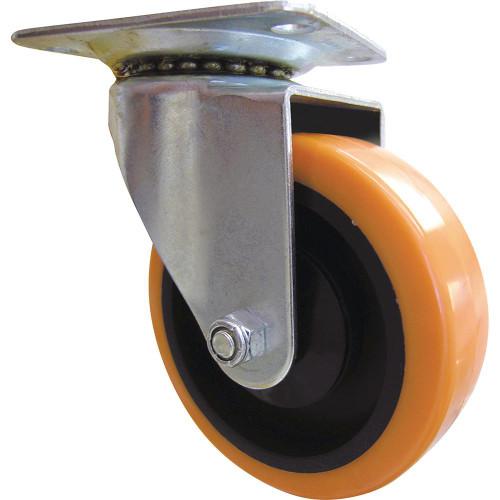 "Orange Swivel Caster Wheel 4"""