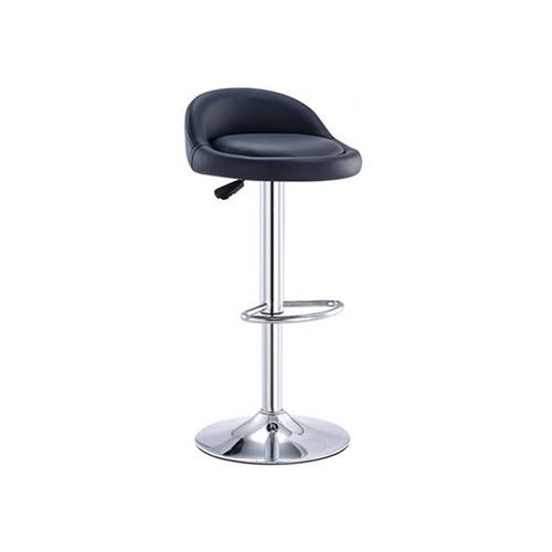 Leather Hydraulic Lift Bar Chair