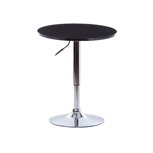 Round Hydraulic Lift Table (Black)