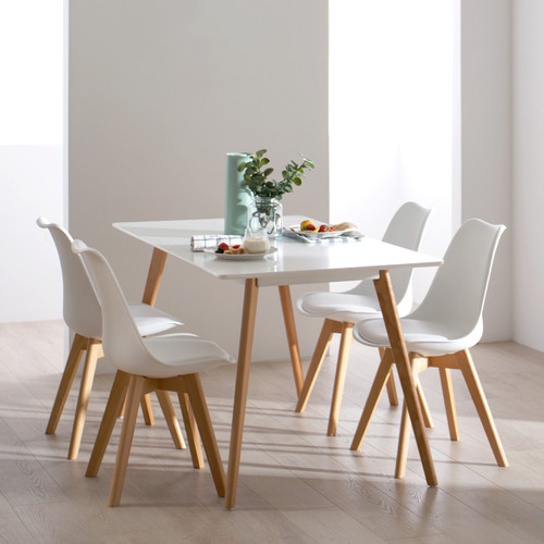 Nordic Pine Dinning Table Set