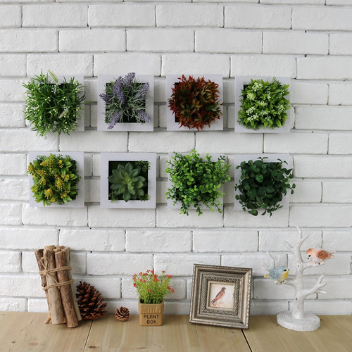 Artificial Wall Hanging Plant