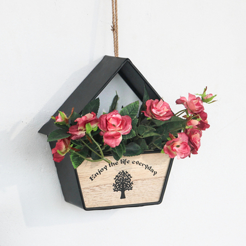 House Shaped Wall Hanging Flowerpot