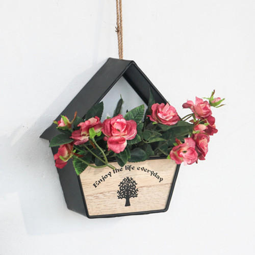House Shaped Wall Hanging Flowerpot